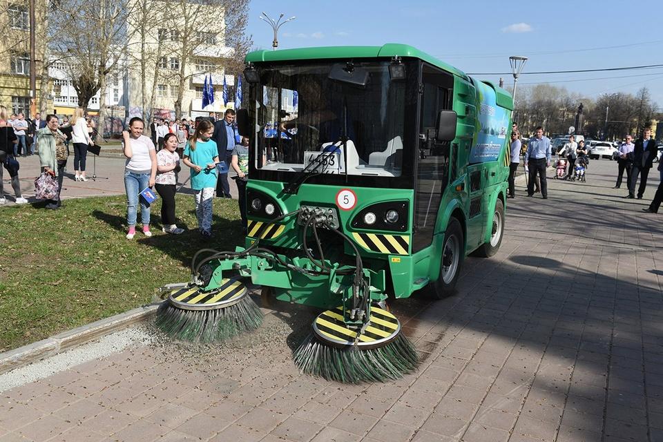уборочная машина МК-2000