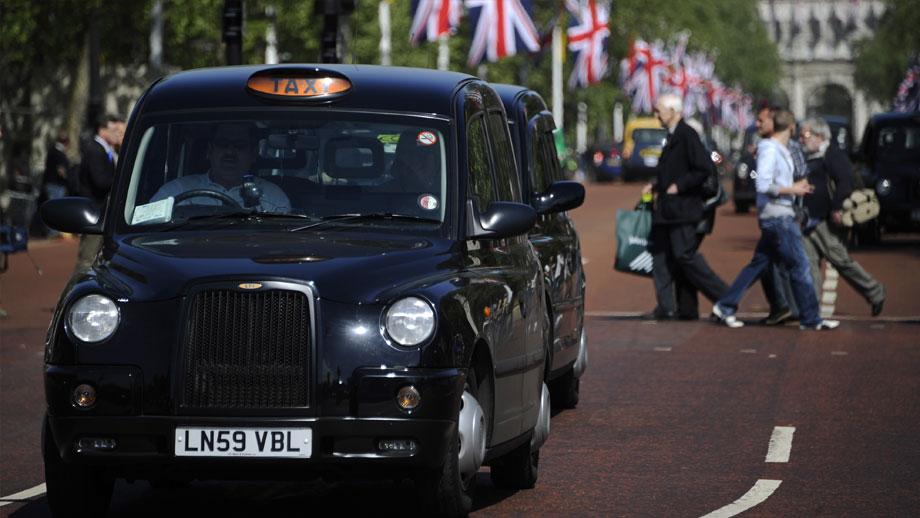 Лондонские такси Блэк Кэбс