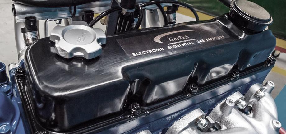 газовый двигатель Gastech LPG на пропане