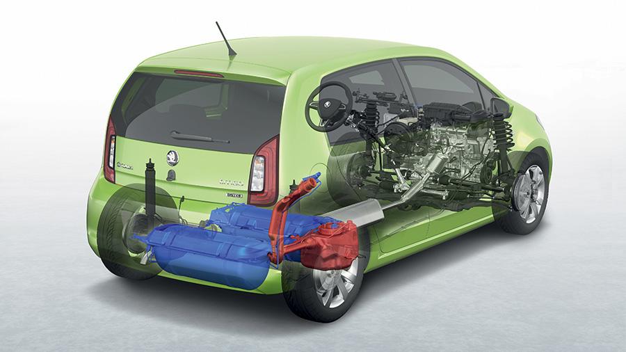газовая модель, Skoda Citigo G-tec CNG