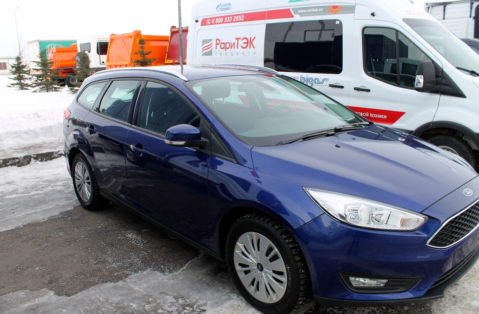 Ford Focus CNG на метане