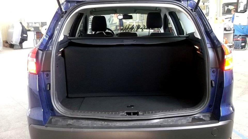 багажник Ford Focus CNG
