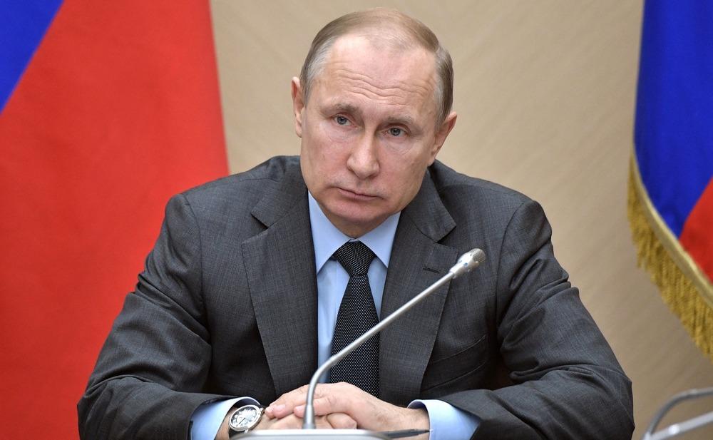 Владимир Путин на совещании 18 апреля 2018