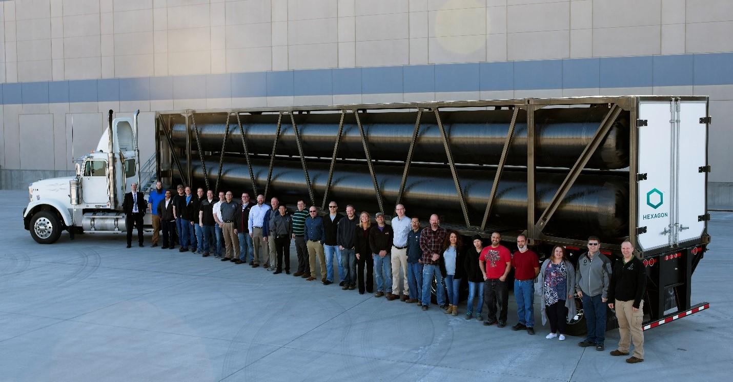передвижной заправщик Mobile Pipeline® с модулем TITAN®53