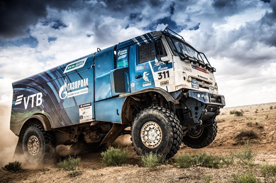 Газовый Камаз, ралли Шелковый Путь 2018, 4й этап Астрахань-Астрахань 24 июля