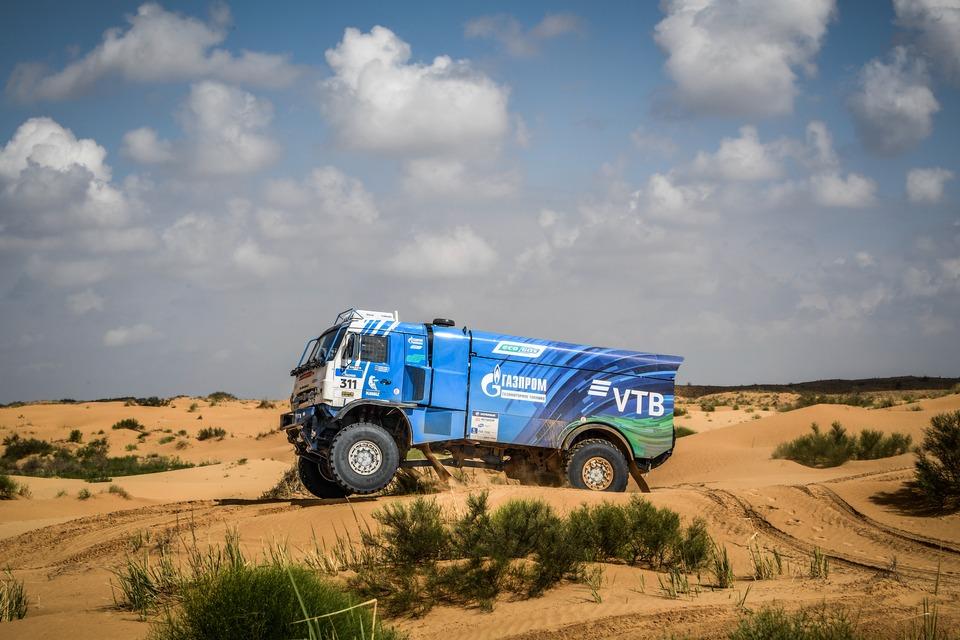 газодизельный камаз, № 311, Silk Way Rally 2018
