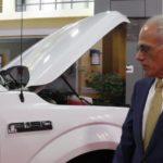 Автомобиль Ford F-150 на адсорбированном природном газе
