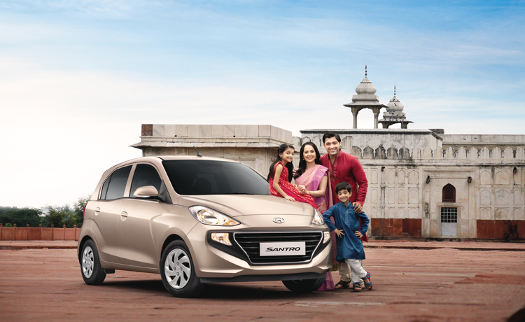 All New Santro, Hyundai