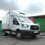 Установка пневмоподвески на Ford Transit RWD 2018 задний привод