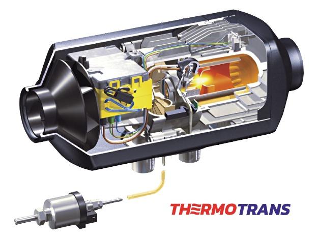 установка воздушного отопителя Thermotrans в Элитгазе