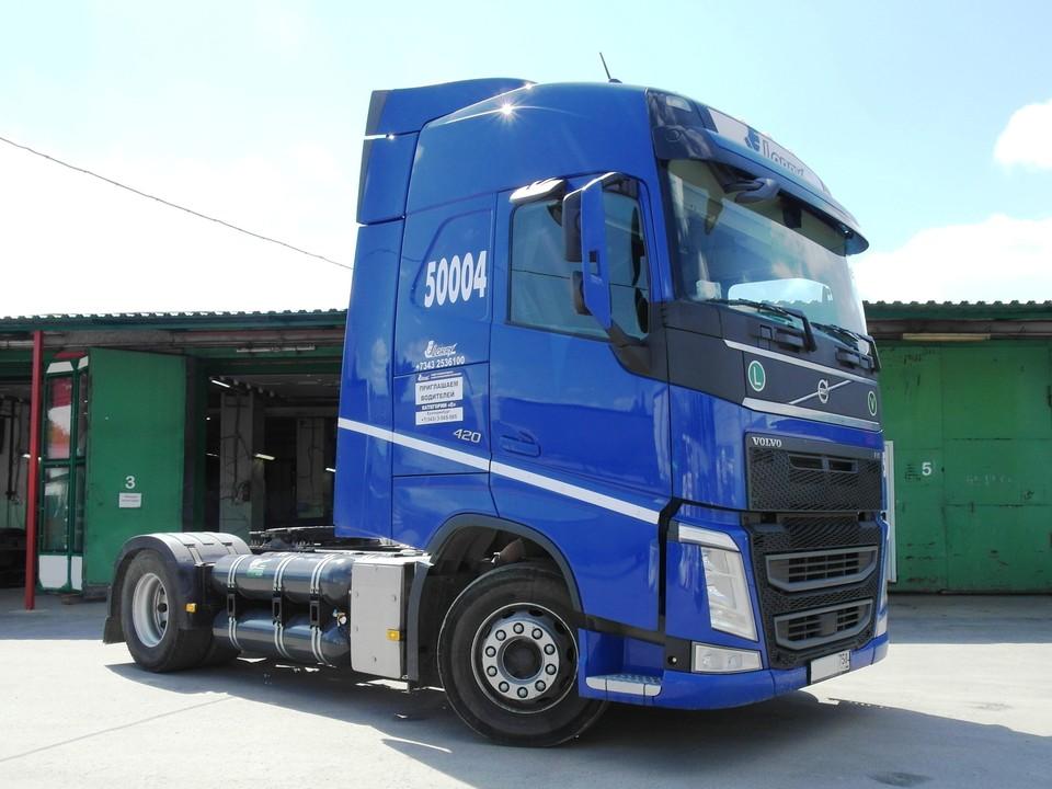 Новый проект 2020. Газодизель на Volvo FH Truck 4x2