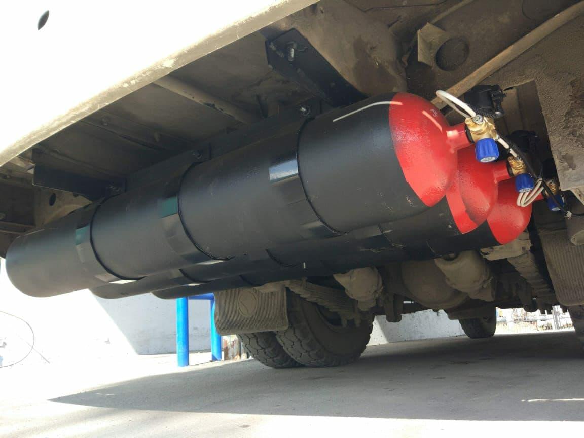 Комплект газовых баллонов для ПАЗ